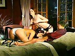 stockings threesome nurse highheels ffm