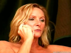threesome blowjob facial milf