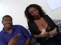 ebony big tits natural brunette milf hardcore