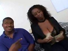 ebony big tits natural brunette milf hardcore