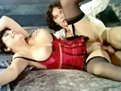 stockings cumshot hardcore milf blowjob titjob bigtits hairypussy pussyfucking classic corset retro vintage finegring