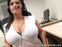 big tits striptease solo