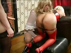Crossdress Femdom Strapon Sissy SpankingOther Fetish Spanking Bizarre