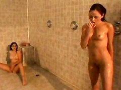 lesbian sex lesbians squirting fingering hot brunette