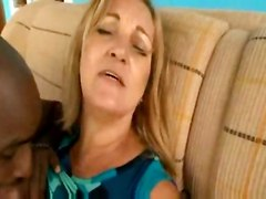 stockings cumshot hardcore interracial blowjob mature bigtits bigass pussyfucking granny