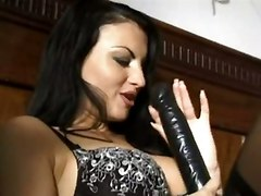 anal stockings cumshot dildo pornstar blowjob brunette fingering threesome asstomouth doublepenetration pussyfucking italian