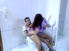 Hot Bathroom Sex