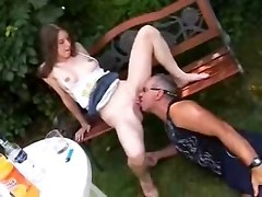 Drunken Teen For Old Man (german