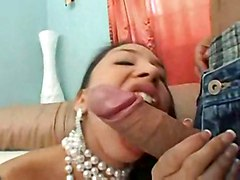 stockings hardcore latina creampie blowjob highheels pussyfucking