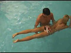 swimming lesson anal