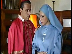 hardcore creampie blowjob oral nun church