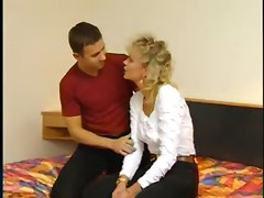 small tits rubbing kissing blonde hairy panties blowjob masturbation riding cumshot mature european