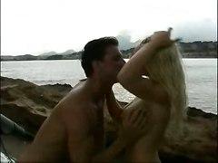 cumshot hardcore blonde outdoor blowjob bigtits beach pussyfucking