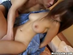  asian japanese brunette blowjob babe big tits