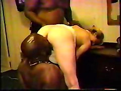 Amateur Black and Ebony Blondes Interracial