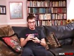 reality milf big tits raven pussy licking hardcore cumshot