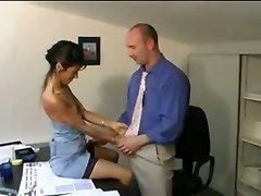office sex milf stockings suck small tits