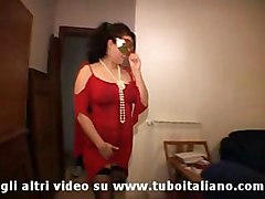 mask milf amateur italian fucking blowjob 3some