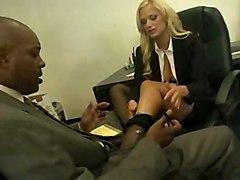 cumshot hardcore blonde interracial blowjob bigtits pussyfucking