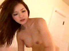 crying moans asian slut pleasure rod movements