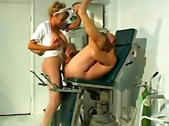 tranny blonde uniform shemale fucks guy fetish