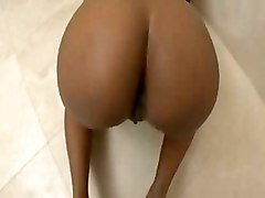 deepthroat face fuck gagging handjob blowjob tight teasing ebony reality bathroom pov doggystyle cumshot facial