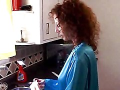 Milf Gets Fucked In Kitchen