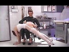 fetish spanking paddling otk lesbian babes stockings femdom bondage bdsm babes ass