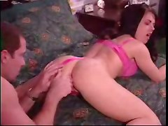 anal brunette pornstar hardcore creampie cumshot deepthroat ass licking panties big tits fingering wet pussylicking blowjob doggystyle gaping close up handjob kissing