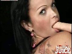 shemale masturbation dildo anal hole boobs