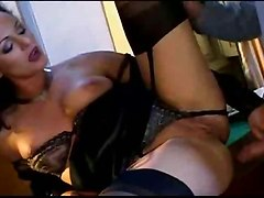 heteros lesbians office sex turn on