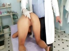 bizarre gyno clinic kinky exam speculum pussy fetish fingering gaping reality