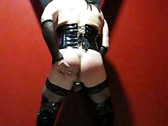 crossdresser fetish masturbation bum prick