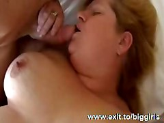 big fat fatty bbw chubby plumper large blowjob busty boobs cum cumshot cumming facial fingering