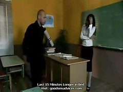 Hot European MILF Teacher asian street meat