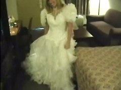 stockings hardcore blonde blowjob amateur pussyfucking realamateur bride wedding honeymoon