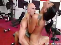 riding cock big tits gym sex blowjob handjob