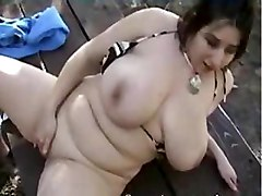 BBW Masturbation Public Nudity