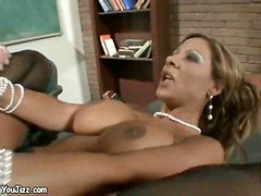 milf teacher cock pleasing sex feet cumshot