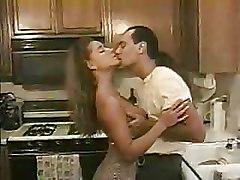 Hot Couple Enjoying Their Sex In Kitchen