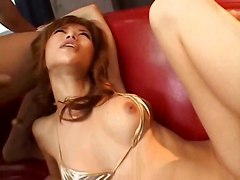 asian squirt squirting threesome beauty
