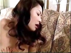 Busty Girl Getting Her Pussy Fingered Nipples Licked On The Couch