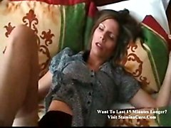 stockings hardcore creampie milf blowjob brunette POV psusyfucking