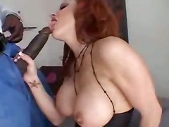 ass babe big dick big tits black blowjob tittyfuck riding fishnet stockings interracial lingerie orgasm panties pussy red head striptease teasing wet pornstar