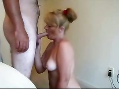 blowjob cum swallowing milf homemade redhead
