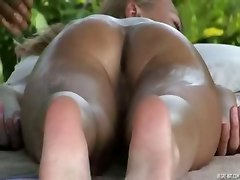 massage outdoor ass pussy big tits softcore female friendly brunette