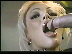 blowjob blonde big tits facial suck