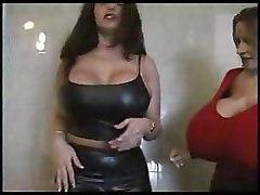 huge boobs tits lesbian dress ass