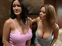 big tits  big ass  ass  brunette  foursome  group  fffm  from behind  home Sienna West  Carmella Bing  Angelina Valentine  Johnny