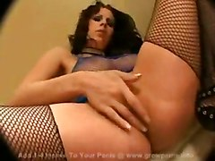 stockings cumshot sex blowjob brunette fingering titjob threesome deepthroat bigtits pussytomouth bigass pussyfucking
